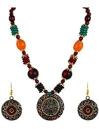 YouBella Afghani Tribal Jewellery Set for Women (Multicolour)(MV-FS6S-86K3)