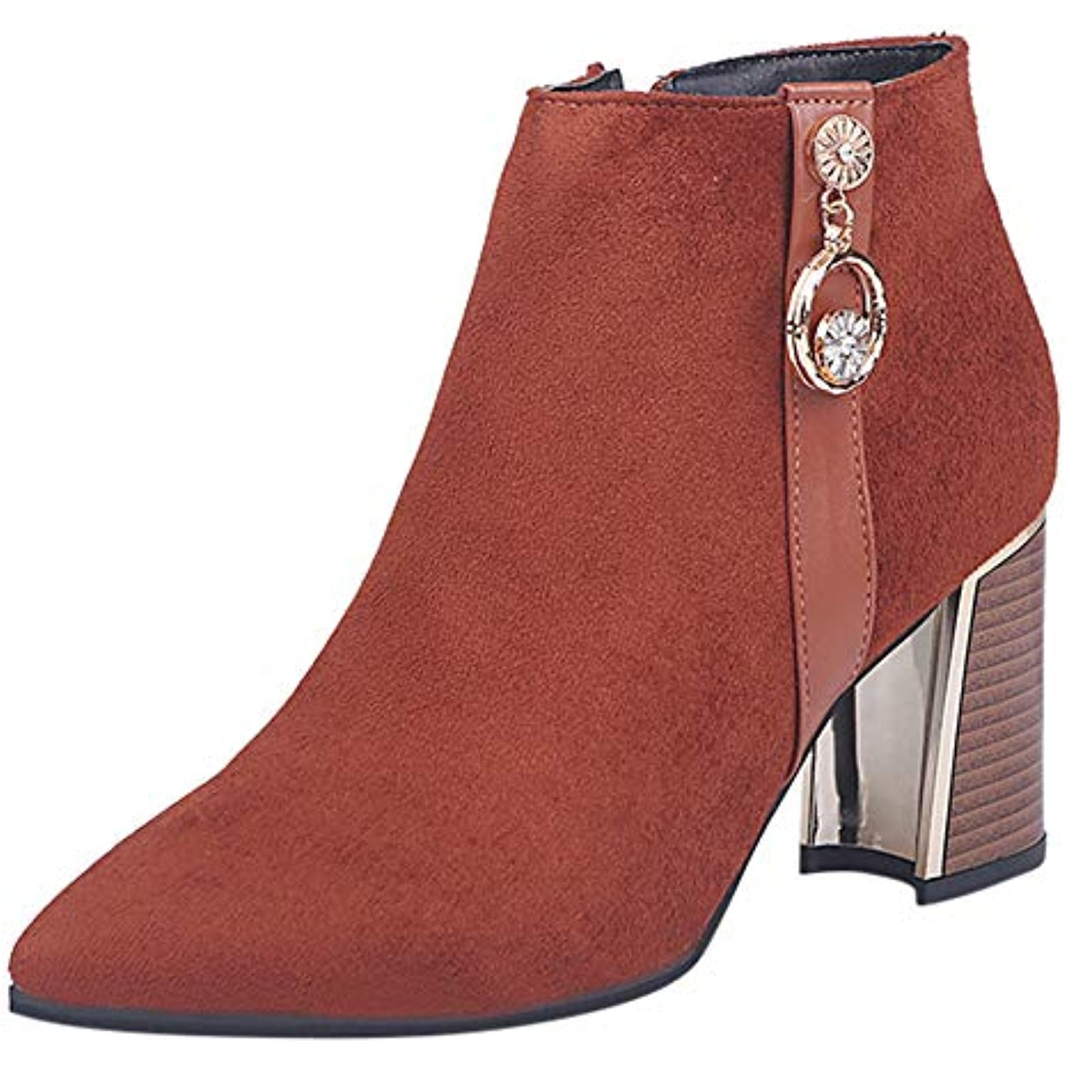 trada-botte Sauvages femme Scrub Bottes Sauvages trada-botte épais Bottines Femmes Hiver Bottines Chaud Bowknot Neige Automne Chaussures... - B07JN4PYJ7 - 32cd86