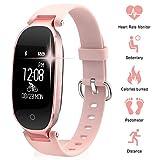 Fitness Tracker Donne Cardiofrequenzimetri Conta Passi IP67...