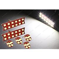 urmodbase 2x Lampadine LED cupola Mappa + 4x Lampadine LED Lampadina LED luce bianca 4500–6000K