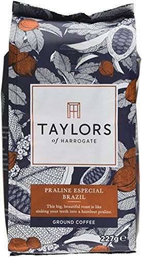 Taylors of Harrogate Cacao Superior Colombia Ground Coffee, 227g (Pack of 6)