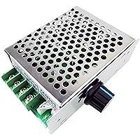 uniquegoods PWM 12V 24V 36V 50V 30A (max) CCM6DS controlador de velocidad del motor de la CC de velocidad ajustable gobernador CCM6DS