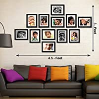 """Box Content : set of 12 individual frames, Actual Photo Size - 4""""x6"""" Inch And Photo Size with Mount - 6""""x8"""" Inch, Outer Frame Size - 7.5"""" x 9.5"""" Inch"""