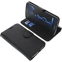 Tasche für TP-Link Neffos C5 Book Style schwarz Schutz Hülle Buch