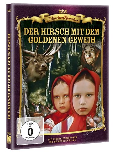 Der Hirsch mit dem goldenen Geweih ( digital überarbeitete Fassung )