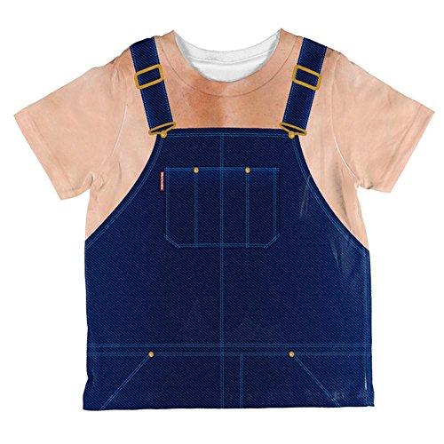 Kostüm Halloween Hillbilly Redneck ganzen Kleinkind T Shirt Multi 2 t (Redneck Kostüme Für Halloween)