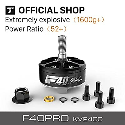 T-motor Newest Silver Wire Winding F40 PRO KV2400 CW CCW 2PCS/SET Mini FPV Racing Motor For FPV Drones