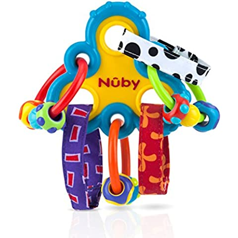 Wacky Loops Baby Teether by Nuby