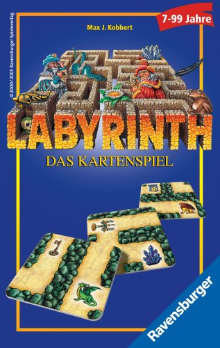 "Ravensburger 23206 2 ""Labyrinth"" Card Game"