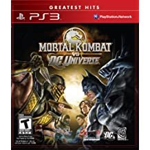 Midway Mortal Kombat vs. DC Universe, PS3 PlayStation 3 Inglés vídeo - Juego (PS3, PlayStation 3, Lucha, Modo multijugador, T (Teen))