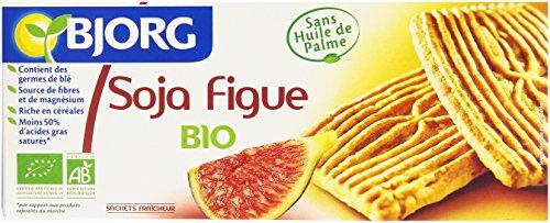 Bjorg Biscuits Soja Figue à la farine complète Bio 240 g
