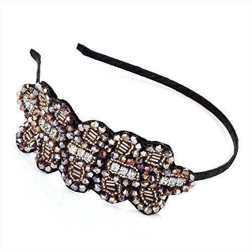 Perles dorées motif alice Serre-Tête/Bandeau/Cheveux Accessoires