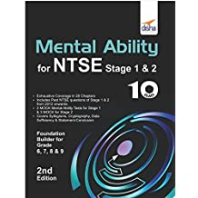 Mental Ability for NTSE & Olympiad Exams for Class 10 (Quick Start for Class 6, 7, 8, & 9)