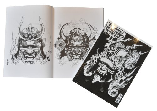 Tattoo-Buch - 100 Japanisch Designs Teil 2 von Horimouja (Tattoo Book Part 2) (Stammes Maske Tattoo)