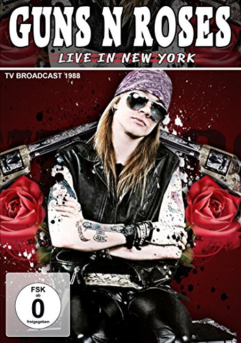 Guns N' Roses - Live In New York 1988 [UK Import] (Gun-filme)