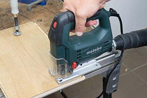 Metabo Stichsäge STEB 65 Quick / qualitativ hochwertige Säge 450 W mit Sechskantschlüssel und Kunststoffkoffer / robust und langlebig - 3