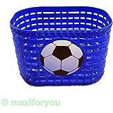 Kinderfahrrad Korb Kunststoff für vorne/hinten 4 Farben Fahrradkorb - 01170319