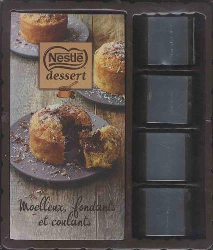 Moelleux Fondants Coulants Nestlé 2017