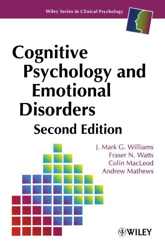 Cognitive Psychology and Emotional Disorders, 2nd Edition by J. Mark G. Williams (1997-06-05)