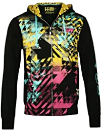 LORD & LADY BALTIMORE Homme Designer Hoodie Blouson - POP ART -