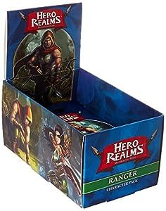 White Wizard Games Blanco Asistente Juegos Hero reinos Ranger Pack Juego de Cartas