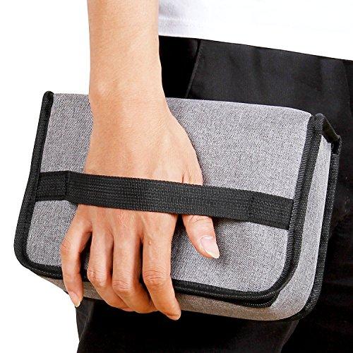 Lifewit borsa termica porta pranzo borsa frigo isoterma per alimenti mantenere caldo o freddo per uomo/donna/bambino lunch box per campeggio lavoro scuola, grigio