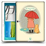Head Case Designs Rain Hopeful Thoughts Protective Snap-on Hard Back Case Cover for Samsung Galaxy Tab S 10.5 LTE T805 WIFI T800