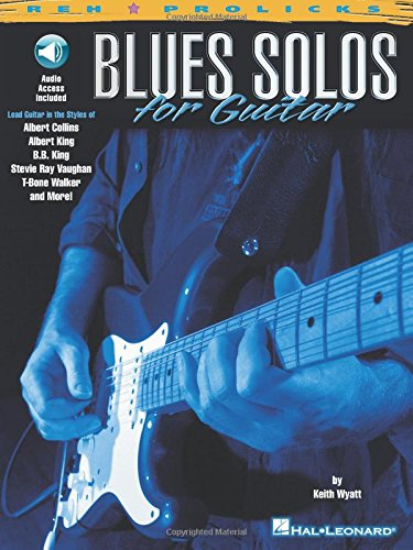 BLUES SOLOS FOR GUITAR TAB BOOK/CD (Prolicks) por Various