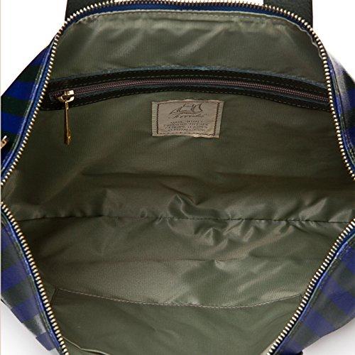 Terrida Cape Code cartella in pelle - CC1088 (Verde/Blu) Verde/Blu