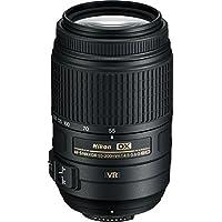 Nikon AF-S DX NIKKOR 55–300mm f/4.5–5.6G ED Lente de zoom de reducción de la vibración con enfoque automático para Nikon DSLR Cámaras internacional no versión (garantía de por vida)