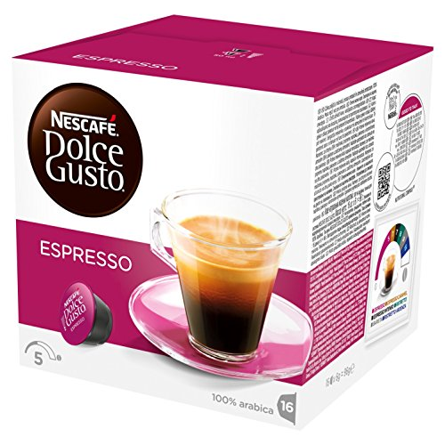 Nescafé -  Dolce Gusto Espresso - Pack de 3 Sachets (48 Capsules)