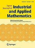 Japan Journal of Industrial and Applied Mathematics  Bild