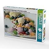 Süße Leidenschaft - Gebäckkugeln mit Frischkäse und Obst 1000 Teile Puzzle Quer