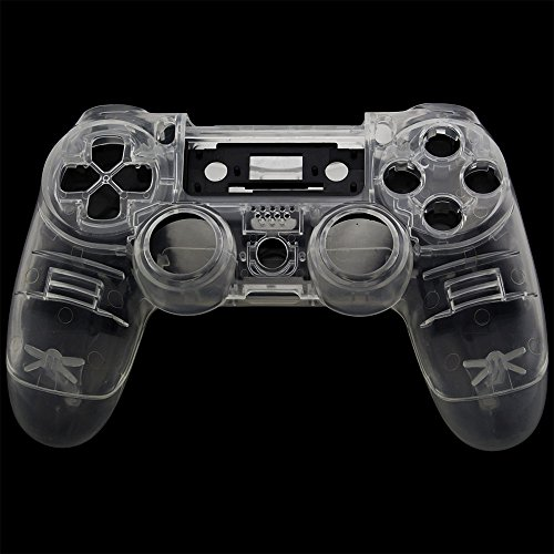 Jiulyning Hydro Dipped Carbon Fiber Full Ersatz Controller Shell für Xbox One 360 PS4 (One Xbox Controller Carbon)