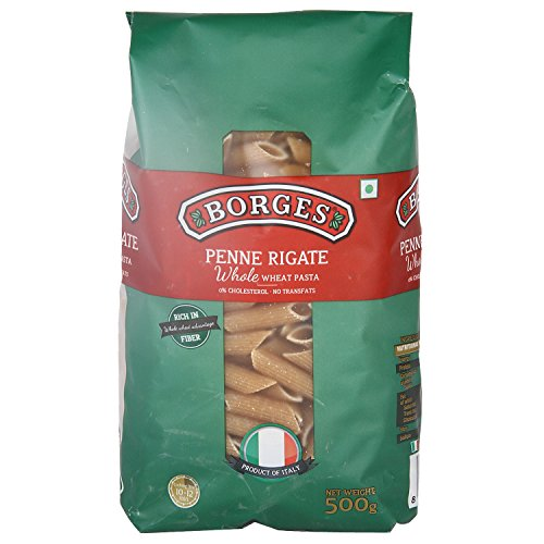 Borges Whole Wheat Penne Pasta, 500g