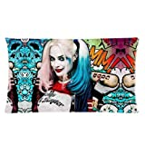 TrendSetter Harley Quinn Suicide Squad Poster Custom Pillowcase Cushion Pillow Case Home Decorative Pillow Cover 20X36(Twin Sides) by Trendsetter Pillowcase