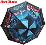 Art box Special Material BOYSGIRLS CAR print UMBRELLA For kids and all.