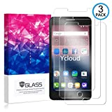 Ycloud [3 Pack] Displayschutzfolie für Alcatel OneTouch Pop Star 3G / 4G, Staubdichter, kratzfester Displayschutz für Alcatel OneTouch Pop Star 3G / 4G