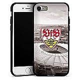 DeinDesign Apple iPhone 7 Silikon Hülle Case Schutzhülle VfB Stuttgart Fanartikel Stadion