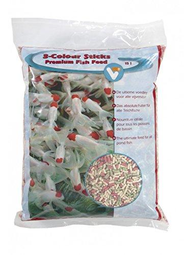 Fischfutter Teichfischfutter 3-Colour 15L Premium
