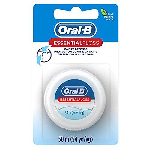 Oral-B Essential Zahnseide, Mint, gewachst, 50m, 6Stück