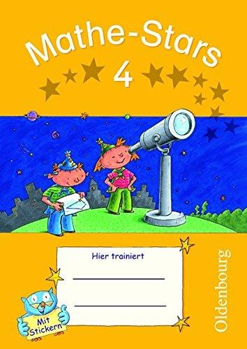 Mathe-Stars - Regelkurs: 4. Schuljahr - Übungsheft: Mit Lösungen -
