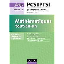 Mathématiques tout-en-un PCSI-PTSI - Conforme au nouveau programme