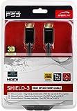 Speedlink Shield-3 HDMI Kabel für PlayStation PS3/PS4 (Unterstützt 4K Auflösung in 3D, 60 Fps, 2160p, HDMI 2.0, Ethernet, 5m)