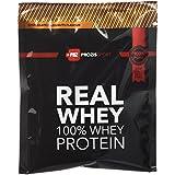 10 x Sachet 100% Real Whey Protein 25 g Chocolat et Noisettes