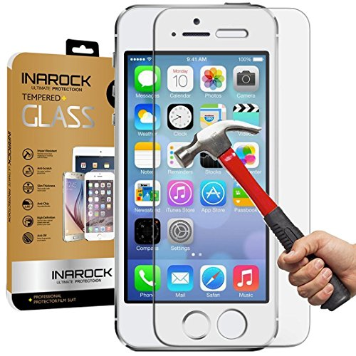 2-packlifetime-warrantyiphone-se-5s-5-5c-glass-screen-protector-inarock-026mm-9h-tempered-glass-scre