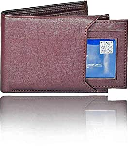 Neriya Protected 100% Genuine High Quality Mens Leather Wallet (8 Card Slots)