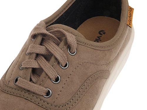 Victoria - Ingles antelina marron - Chaussures basses toile Marron