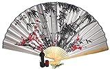 AAF Nommel®, Großer Dekofächer 055 aus Papier und Bambus, Geöffnet ca 160 cm breit!