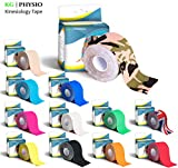 KG Physio Kinesiologie tape 5cm x 5m Rolle ungeschnittenes Physio